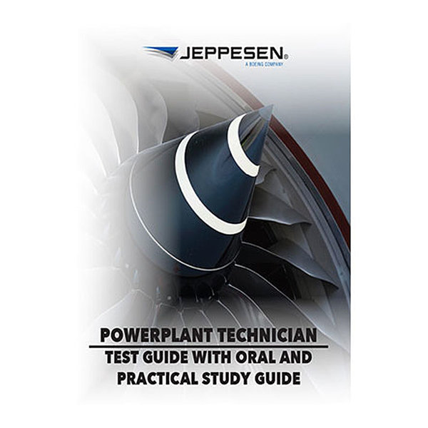 Jeppesen A&P Technician Powerplant Test Guide SC
