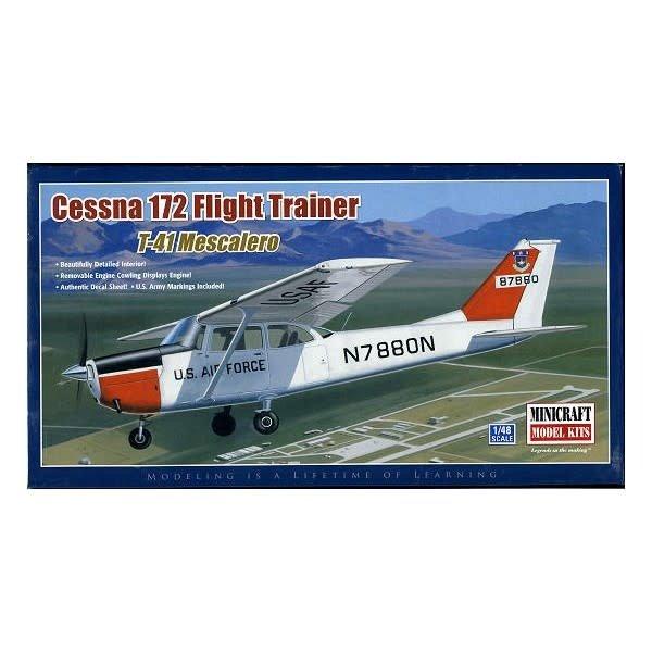 Minicraft Model Kits Cessna C172 Flight Trainer/T-41 Mescalero 1:48