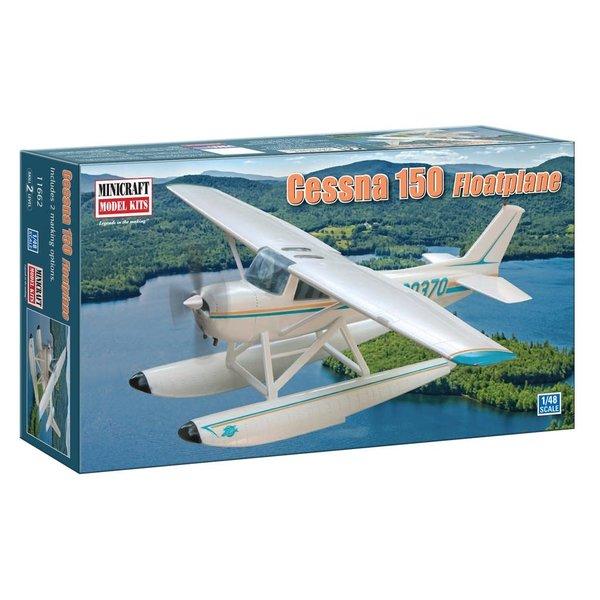 Minicraft Model Kits Cessna C150 Float Plane 1:48
