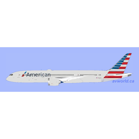 B787-9 Dreamliner American 2013 c/s N839AA 1:200 with stand