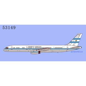 NG Models B757-200 Fuerza Aerea Argentina T-01 1:400 +Preorder+