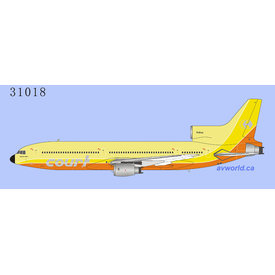 NG Models L-1011-1 Tristar Court Line yellow / orange G-BAAA 1:400 +preorder+
