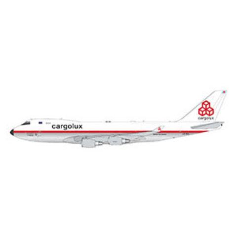 B747-400F Cargolux retro livery LX-NCL 1:400