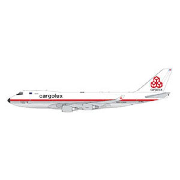 Gemini Jets B747-400F Cargolux retro livery LX-NCL 1:400