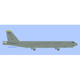 Herpa B52H Stratofortress USAF 11 Bombardment Squadron Jiggs 1:200