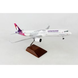 Skymarks Supreme A321neo Hawaiian 1:100 with wood stand & gear +NSI+