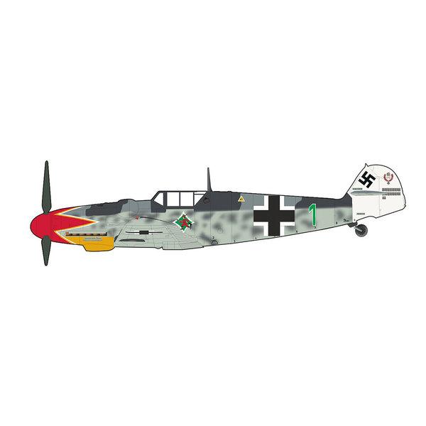 Hobby Master BF109G-6 Jgr550 GREEN1 Hermann Graf 1:48
