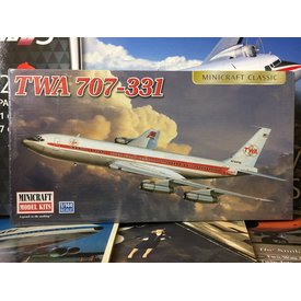 Minicraft Model Kits B707-331 TWA 1:144