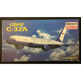 Minicraft Model Kits C32A/B757-200 AIR FORCE 2 1:144*Discontinued*Used