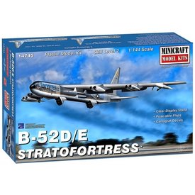 Minicraft Model Kits B52D/E Stratofortress 1:144 New 2019