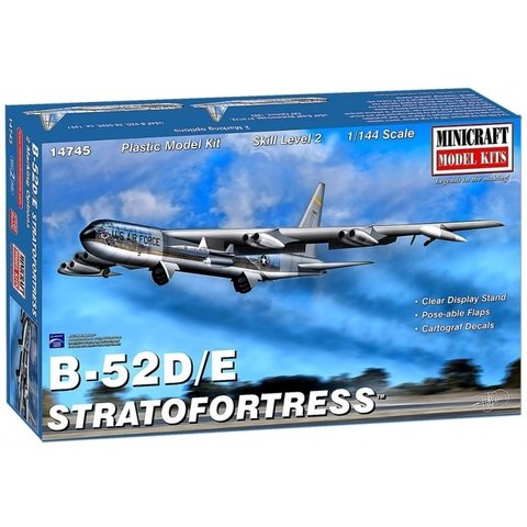 B52D/E Stratofortress 1:144 New 2019