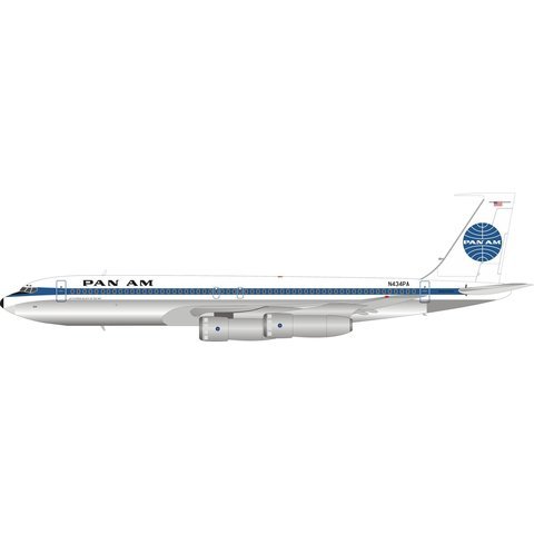 B707-300 Pan Am N434PA 1:200 polished +Preorder+
