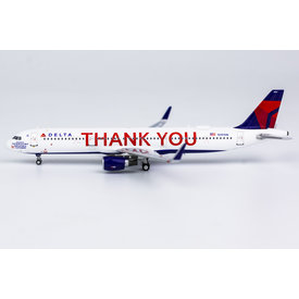 NG Models A321S Delta 2007 THANK YOU N391DN 1:400