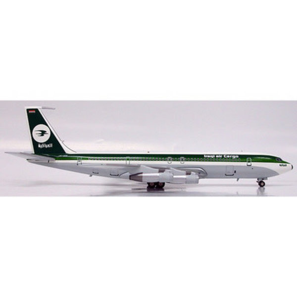 InFlight B707-320 Iraqi Airways single cheatline 1:200