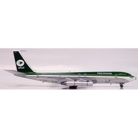 B707-300 Iraqi Airways curved cheatline YI-AGF 1:200 polished