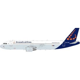 InFlight A320 Brussels Airlines OO-SNJ 1:200 with stand