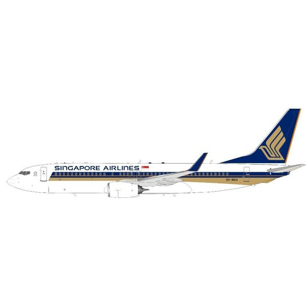 InFlight B737-800W Singapore Airlines 9V-MGA 1:200