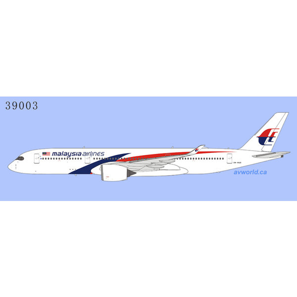 NG Models A350-900 Malaysia Airlines 9M-MAB 1:400 +Preorder+
