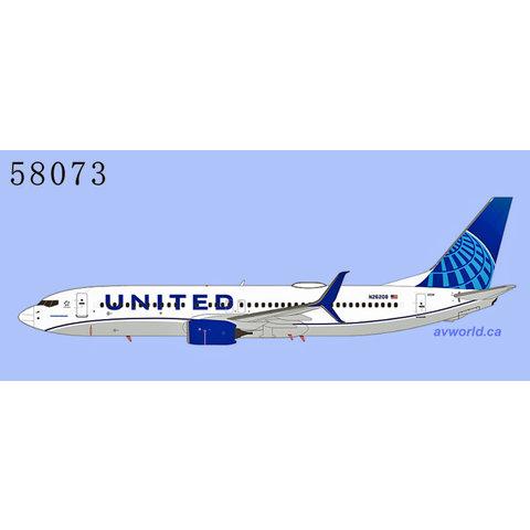 B737-800S United 2019 c/s N26208 1:400 +Preorder+