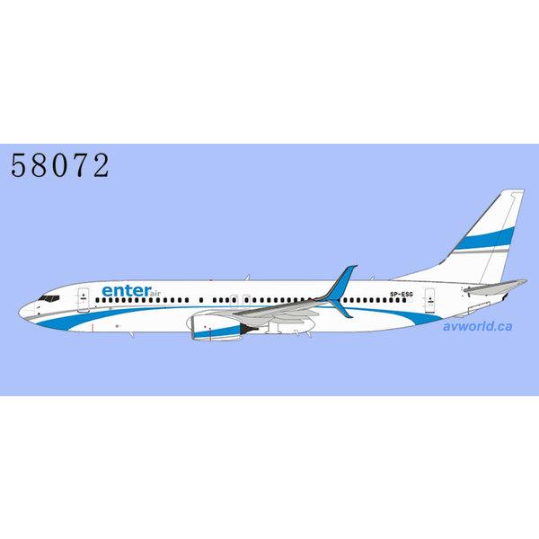 NG Models B737-800S Enter Air SP-ESG 1:400