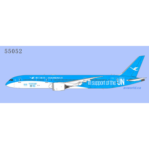 NG Models B787-9 Dreamliner Xiamen support UN B-1356 1:400 +Preorder+