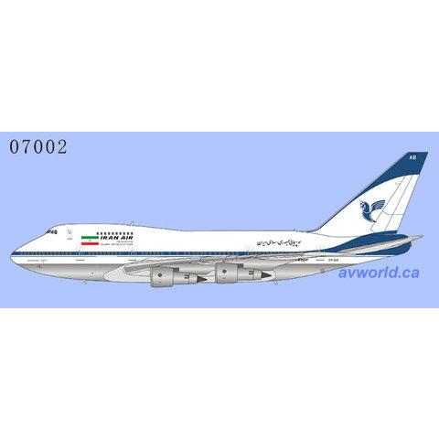 B747SP Iran Air final livery EP-IAB 1:400 +Preorder+
