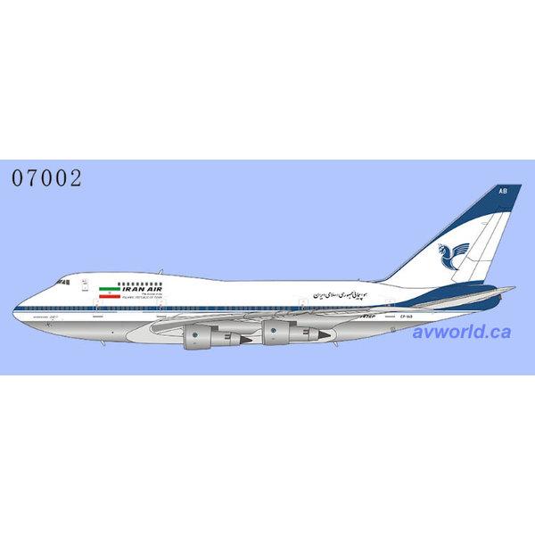 NG Models B747SP Iran Air final livery EP-IAB 1:400 (redo 2021)