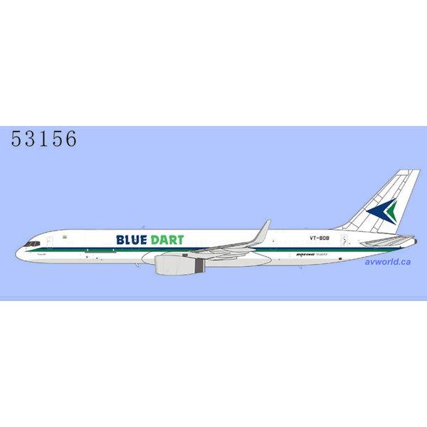 NG Models B757-200PCFW Blue Dart Aviation VT-BDB 1:400