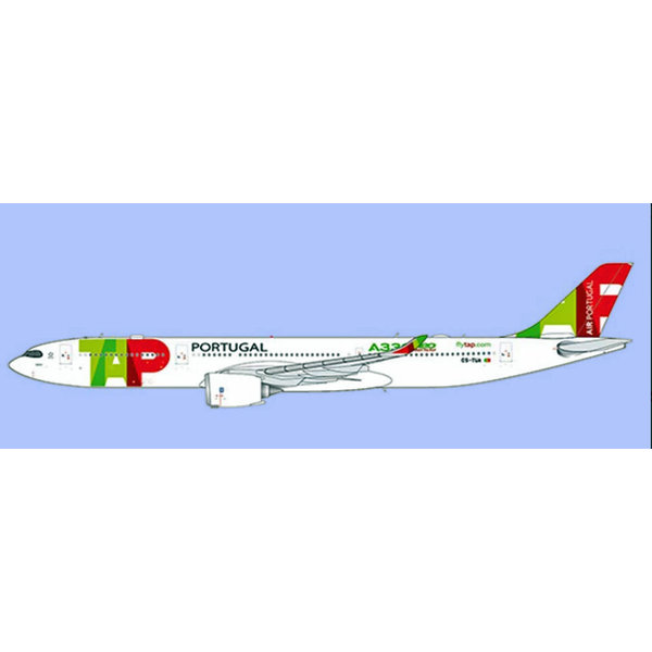 JC Wings A330-900neo TAP Air Portugal A330NEO Titles CS-TUA 1:400