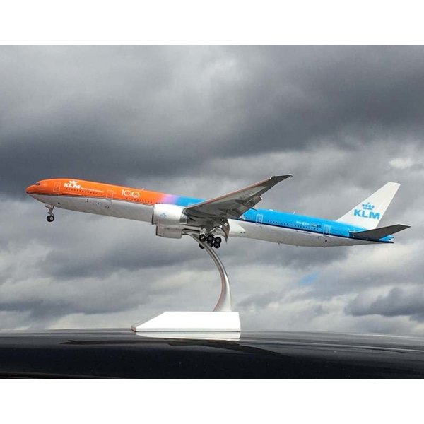 JC Wings B777-300ER KLM Orange Pride 100 Years 1:200 flaps