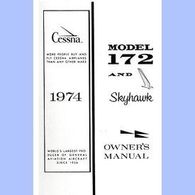 Cessna Cessna Owners Manual C172m 1974