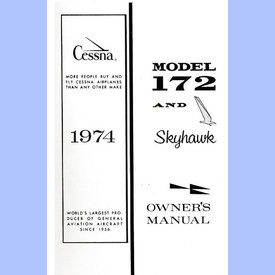 Cessna Cessna Owners Manual C172m '74