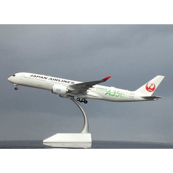 JC Wings A350-900 JAL Japan Airlines A350 Green JA03XJ 1:200 flaps