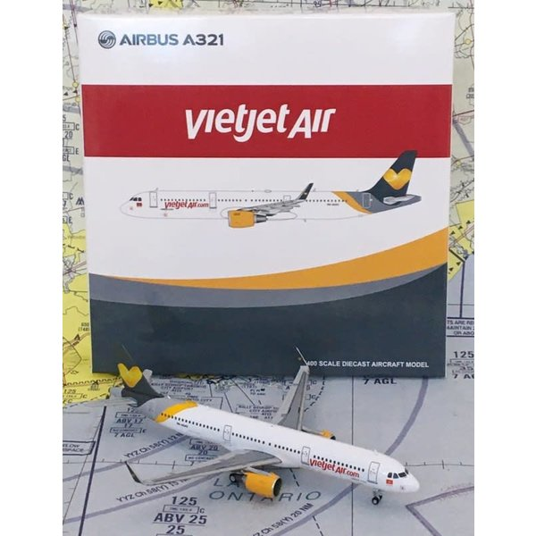 JC Wings A321S VietJet Thomas Cook Livery VN-A542 1:400