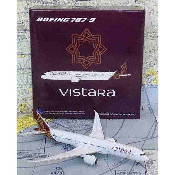 JC Wings B787-9 Dreamliner Vistara 1:400 flaps down