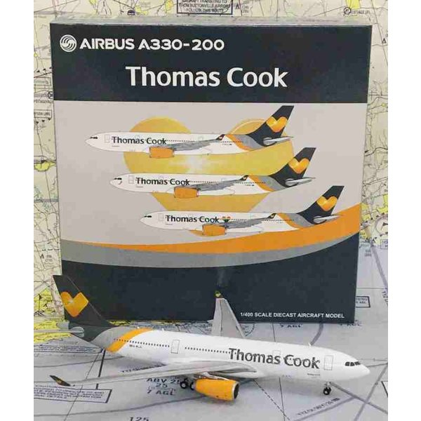 JC Wings A330-200 Thomas Cook grey heart G-MLJL 1:400
