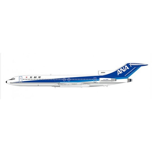JC Wings B727-200 ANA All Nippon JA8344 1:200 with stand