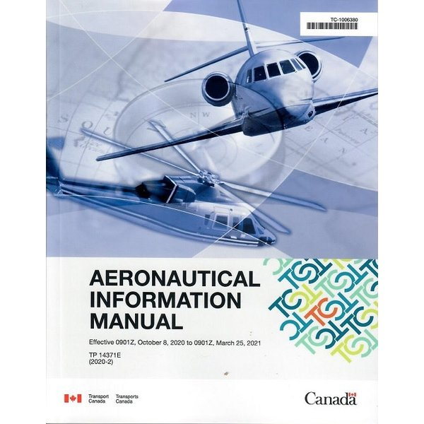 Transport Canada Aeronautical Information Manual AIM Small Size October 2020