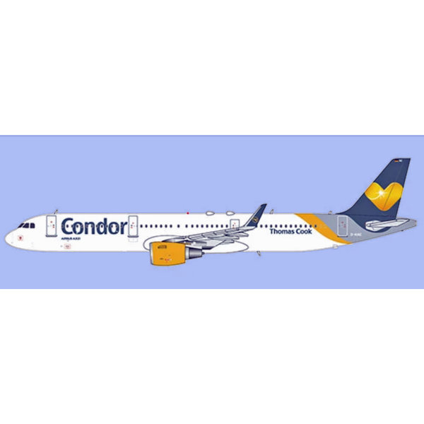 JC Wings A321S Condor (Thomas Cook Livery) D-AIAC 1:400 +Preorder+