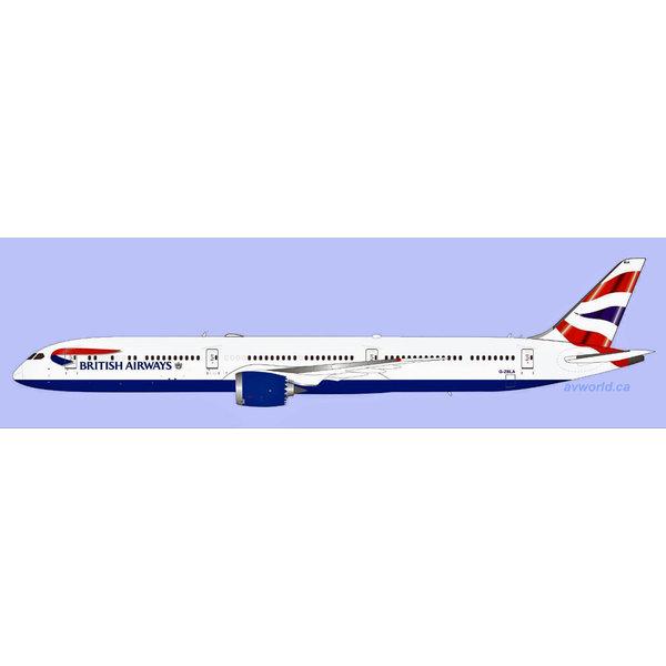 InFlight B787-10 Dreamliner British Airways G-ZBLA 1:200