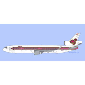 Gemini Jets MD11 Thai Airways 1990s Royal Orchid livery HS-TME 1:200