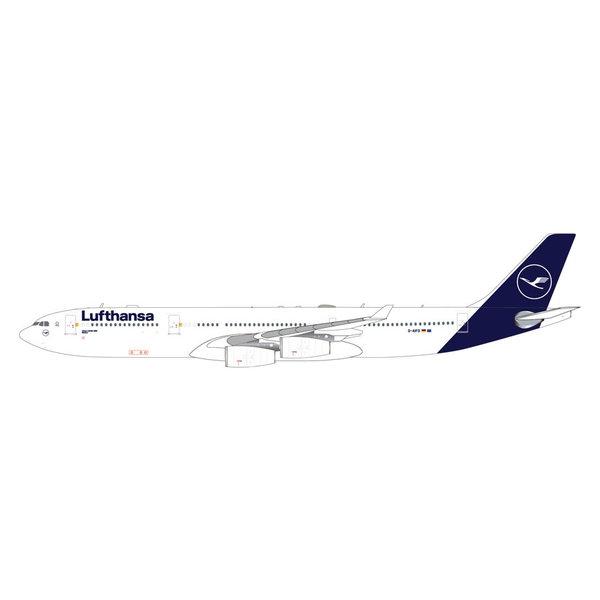 Gemini Jets A340-300 Lufthansa 2018 livery D-AIFD 1:400
