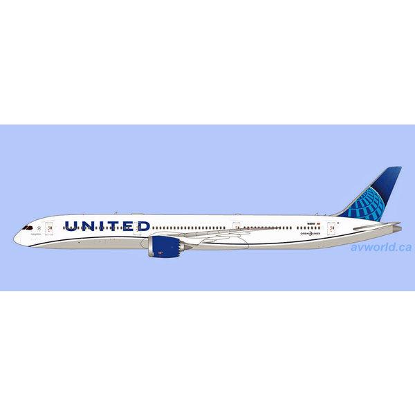 Gemini Jets B787-10 Dreamliner United N/C 2019 N12010 1:400