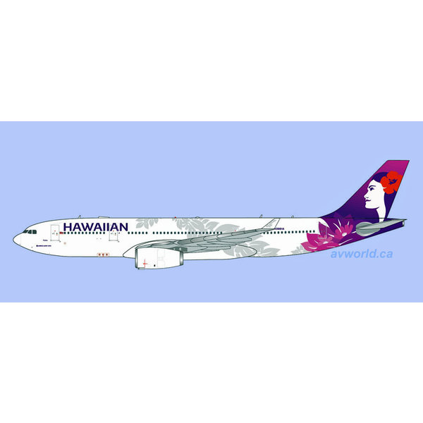 Gemini Jets A330-200 Hawaiian Airlines N388HA 1:400