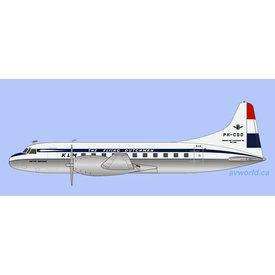 Gemini Jets CV340 KLM 1950 livery PH-CGD 1:200
