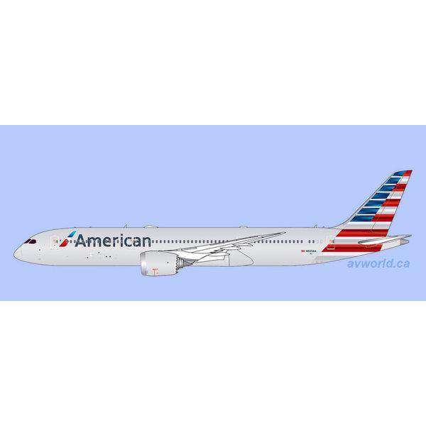 Gemini Jets B787-9 Dreamliner American Airlines N825AA 1:400