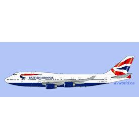 Gemini Jets B747-400 British Airways Union Jack c/s G-CIVN 1:200