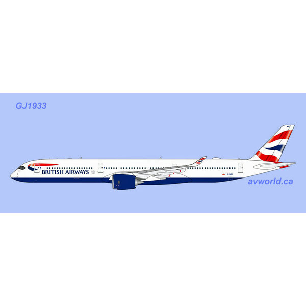 Gemini Jets A350-1000 British Airways Union G-XWBC 1:400 +Preorder+