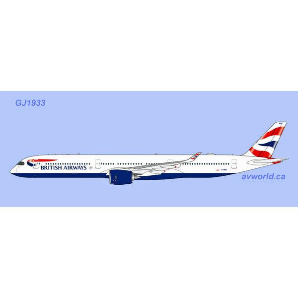 Gemini Jets A350-1000 British Airways Union G-XWBC 1:400