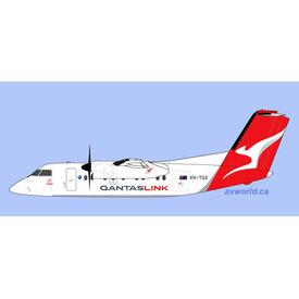 Gemini Jets Dash8-200 QANTASlink VH-TQX 1:400
